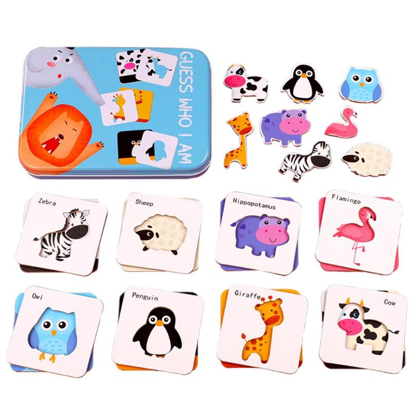 Durable Cognitive Matching Puzzle Baby Hot Selling Safety Expanding Thinking Jigsaw Board Kids Montessori Educational Toys