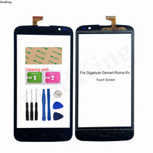 Touch Screen For Gigabyte Gsmart Roma Rx Touch Panel Digitizer Touch Screen Front Glass Sensor Replacement Part Wipes