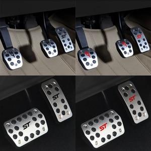 Image 5 - ステンレス車のペダルカバーフォードフォーカス 2 3 4 MK2 MK3 MK4 久我エスケープ RS 、 ST 2005 2017 クラッチガスブレーキペダルセットパッド