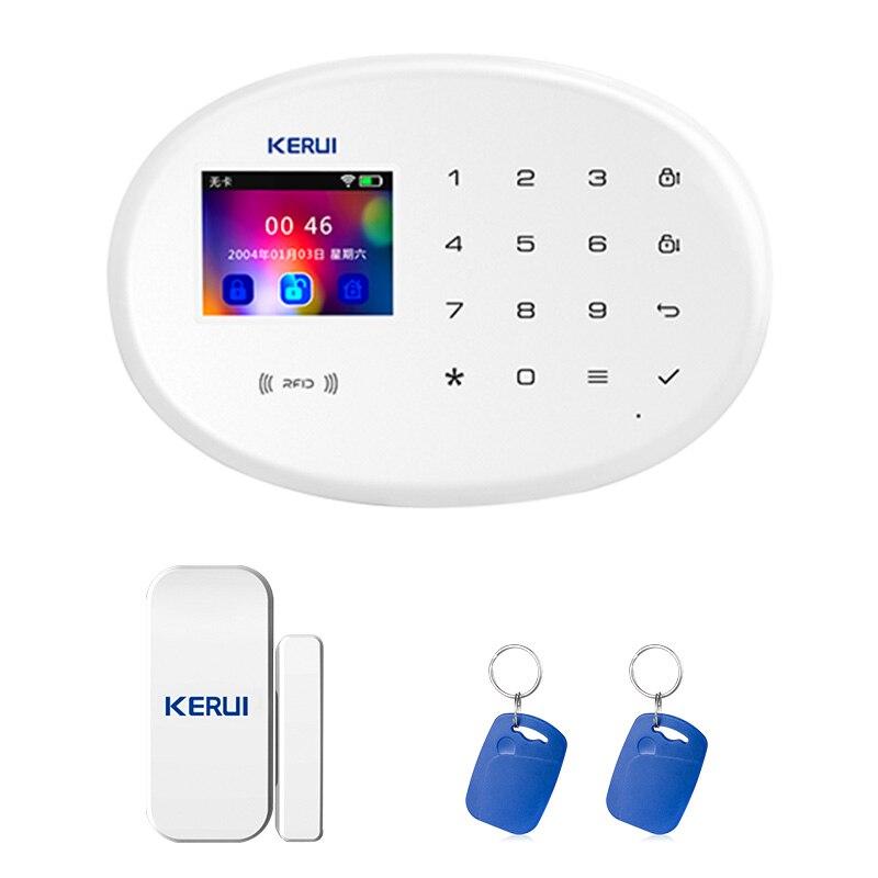 KERUI W20 IOS Android APP sans fil système d'alarme de sécurité à domicile APP contrôle automatique cadran détecteur de mouvement capteur système d'alarme antivol
