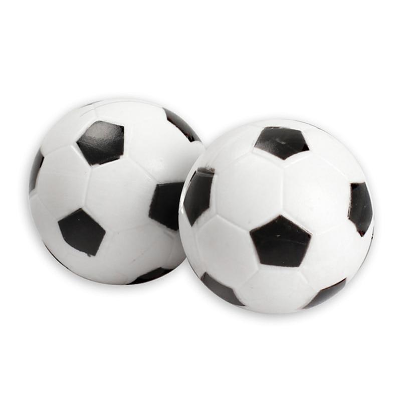 4 Pcs/Set 32mm Plastic Soccer Table Foosball Ball Fussball Children Kids Toy Hot Sales