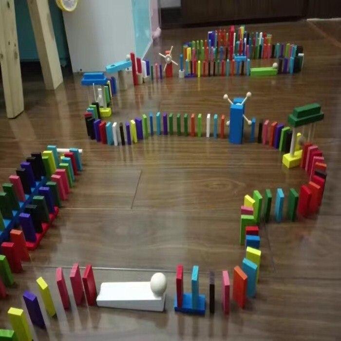 Детская игрушка для раннего обучения и повышения интеллекта домино Стандартный конкурс строительный блок механизм костная пластина