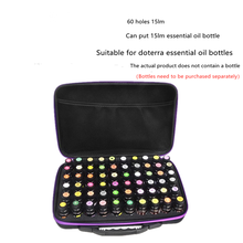 60 Bottles Essential Oil Case Collecting Bags Travel Portable Carrying Cases Nail Polish Storage Bag Portable Doterra Shockproof