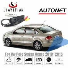 Jiayitian tronco do carro lidar com câmera para vw polo sedan vento 2010 2011 2012 2013 2014 2015 câmera de visão traseira estacionamento backup