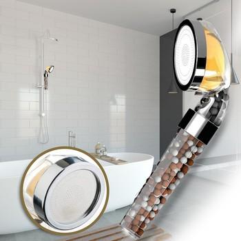 Praktyczny aromat cytryny filtrowanie prysznic Spa prysznic z hydromasażem prysznic pielęgnacja skóry ręczny prysznic perfumy akcesoria łazienkowe # YL10 tanie i dobre opinie NONE CN (pochodzenie) Tworzywo abs Do trzymania w ręku Pojedyncza głowica Shower Head ROUND Z przymocowanym uchwytem Brak