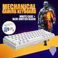 Anne Pro 2 Mechanische Tastatur 60% NKRO Bluetooth 4,0 Typ-C RGB 61 Schlüssel Mechanische Gaming Tastatur Kirsche Schalter gateron Schalter