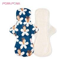 Panty-Liner Sanitary-Pad Bamboo-Fiber Washable Mama Mora Mona Maternity 5-Pcs