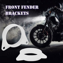 Abs Plastic Fender Bracket A Pair (201)fitment For Honda Cbr400 Nc23 Nc29 Vfr400 Nc30 Diameter 62 Mm / 2.44 Inch#N(China)