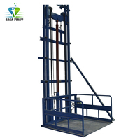Plataforma elevadora vertical de carga de 3m a 10m plataforma elevadora de carga pesada de almacén a través de pisos