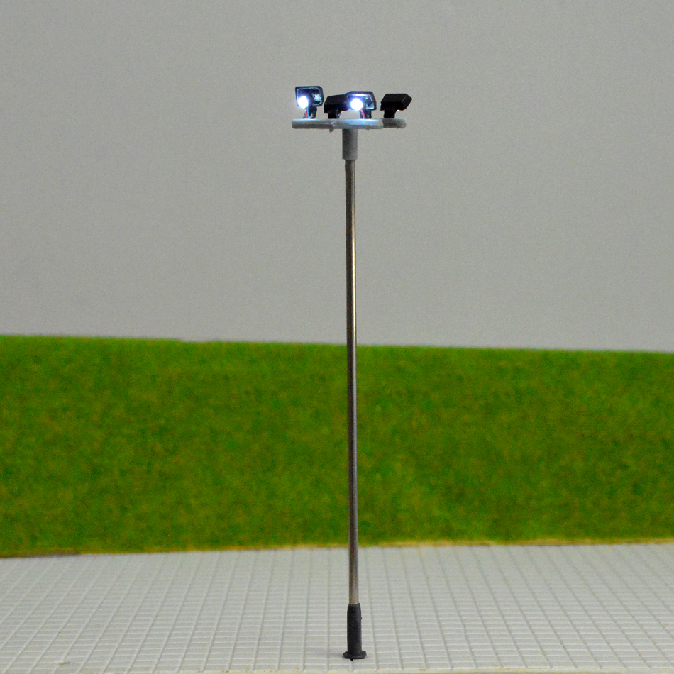 5 Stück 1 100 Modell Lichter Lampe für DIY Miniatur Layout Sand Tisch