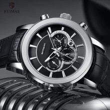 Ruimas 자동 군사 시계 방수 스포츠 손목 시계 가죽 스트랩 기계식 시계 남자 relogios masculino 시계 6767