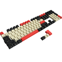 PBT Schlüssel Kappe ISO ANSI Seite/Front Print Kirsche MX Keycap Set Für TKL 87/104/108 /60% MX Mechanische Tastatur Fit Anne Akko X Ducky|Tastaturen|Computer und Büro -