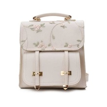 OEAK Women's Backpacks  Female Korean Version Fashion Nylon Ring Decoration Shoulder Bookbags Satchel Trave Dropship