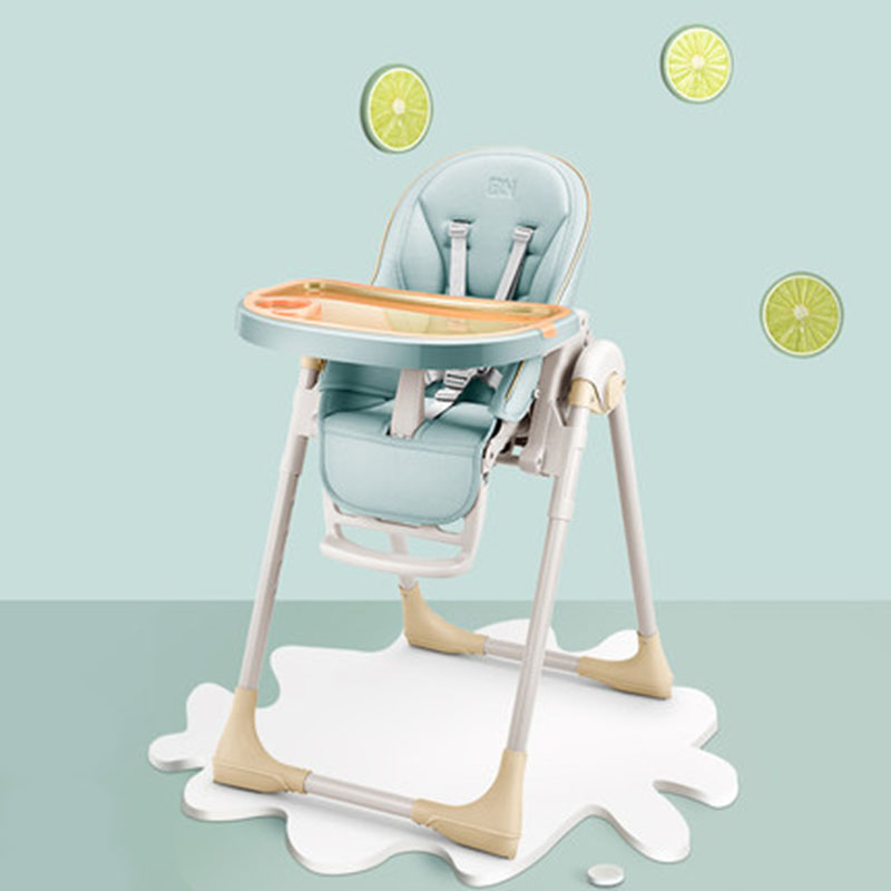Baby High Foot Feeding Chair Good Quality No Need To Install Multifunction Adjustable Fold Portable Child Seat Booster
