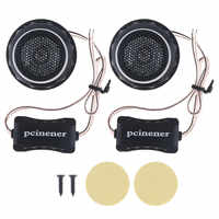 2 stücke 140W T280 Auto Horn Dome Hochtöner Audio Lautsprecher Auto Stereo Höhen Lautsprecher Auto Hochtöner