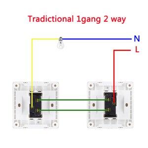 Image 3 - EWelink אחת חוט WIFI מודול 1 כנופיית 2 דרך RF433Mhz לא ניטרלי חוט נדרש לעבוד עם Alexa ו google בית 220 240V
