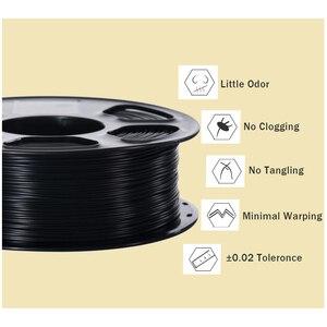 Image 3 - Pla/abs/petg/tpuフィラメント1.75ミリメートル1キロ/0.8キロ343メートル/10メートル2.2LBS abs炭素繊維3Dプラスチック材料3Dプリンタと3Dペン