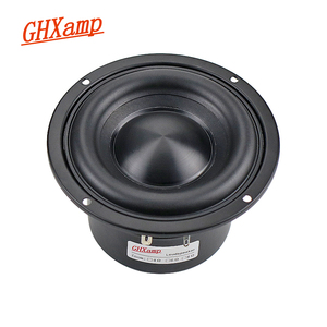 Image 1 - 4 Inch Subwoofer Hifi Speaker Black Diamond Alumina Ceramic Cap Woofer Military Magnetic Bass Soundbox 20W 50W 4 ohm 1PC