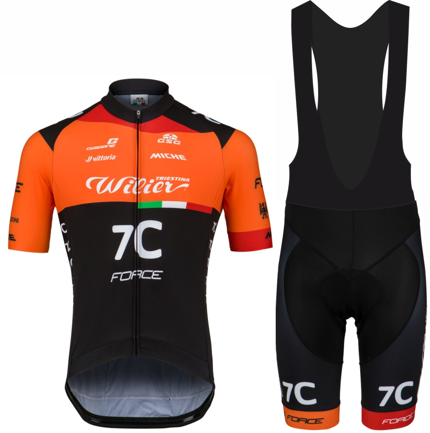 TEAM 7C FORCE CAPE EPIC 2019 JERSEY for summer top quality bibshort Seasonal offer title=