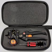 Narzędzia do szczepienia ogrodowego narzędzia do szczepienia profesjonalne nożyce do gałęzi Secateur sekator nożyce do roślin pudełka do szczepienia drzew owocowych