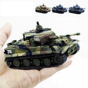 1/72 Mini RC Tank Tiger Battle