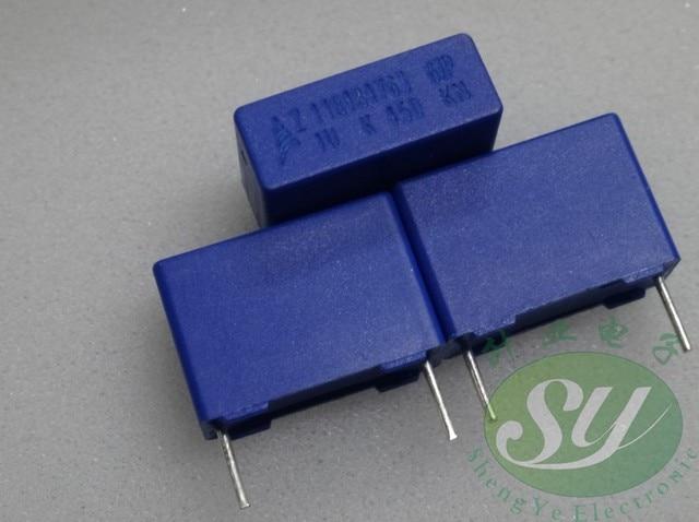 20PCS NOVO filme capacitor EPCOS B32672P4105K 1UF 450V PCM15 B32672 105/450V p15mm MKP 105 1.0 uf/450 v 1u0 1u