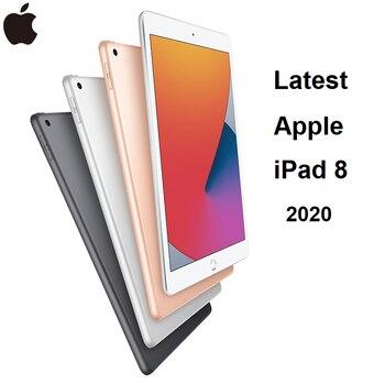 "Original New Apple iPad 8th 2020 A12 Bionic Chip 10.2"" Retina Display 32/128G Thin Slim IOS Tablet WiFi/Cellular"