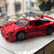 Ferrarily F40 speed champion creator expert 1157PCS Sports supercars model building block compatible 10248 toy