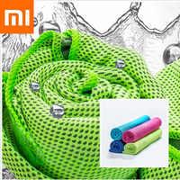Nuevo Xiaomi mi jia COMO LIVING antibacterial Sensor de frío de secado rápido toalla deportiva Xiomi mi toalla de casa para el deporte fuera de viaje