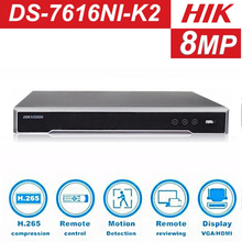 Hikvision DS-7608NI-K2 DS-7616NI-K2 8CH 16CH NO POE Version 4K  H.265 NVR Network Video Recorder