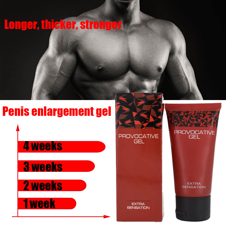 Provocative Gel Penis Enlargement Pills Increase Male's Potence Enhancement Cream Sex Products For Adults Aphrodisiac For Men