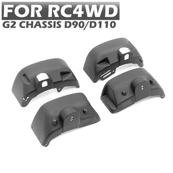 4pcs/set Nylon Wheel Cover for RC4WD D90/110 Body Shell & G2 Chassis Frame RC Car Modification Part image