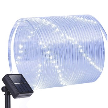 Solar Led Light Outdoor Garden Tube Lights led Strip Christmas Fairy Light for Party Wedding Tree Yard Decoration lampy solarne
