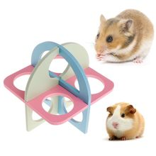 Hamster Ladder Exercise Fitness Toys Climb Sport Small Pets Activity Squirrel Chinchilla Guinea Pig Products Colorful Cage