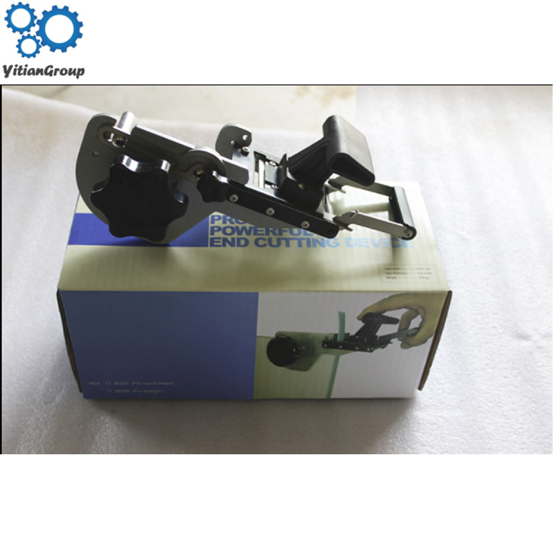 Straight-line header sealing machine JB32S manual operation woodworking edge sealing machine straight arc-head apparatus