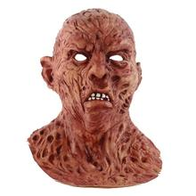 Latex Terror Mask Halloween Horror Zombie Masks Party Cosplay Bloody Disgusting Rot Face Scary Masque Masquerade Mascara