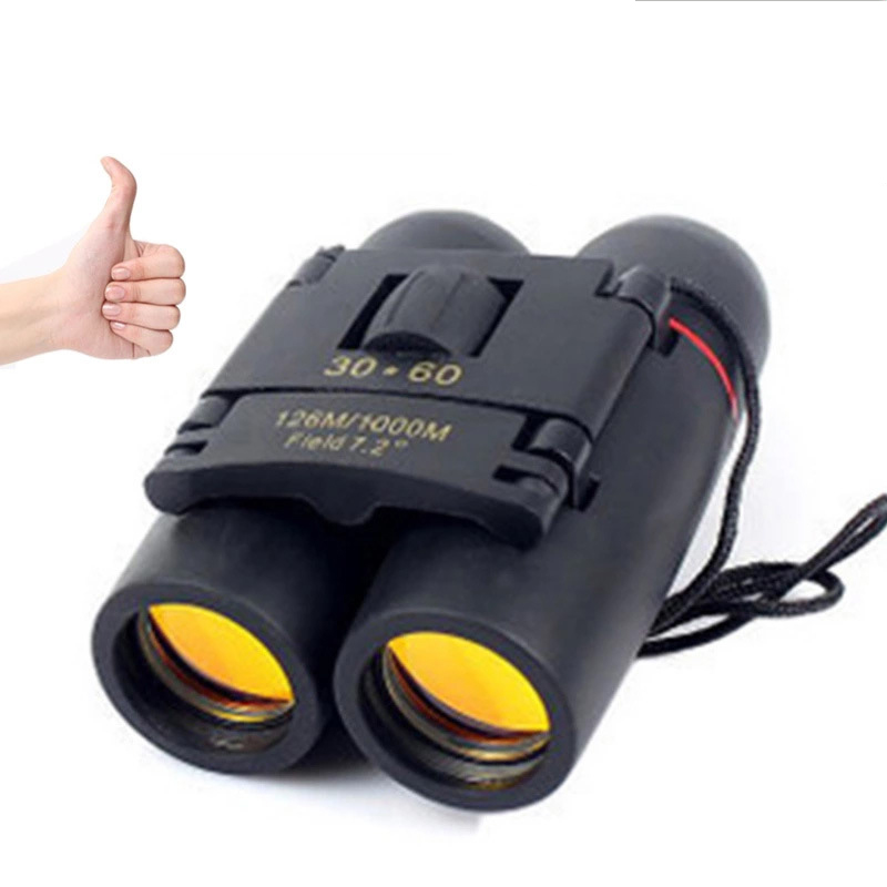 30X60 High-definition Low-light Night Vision Telescope Binoculars 8X Zoom  Monocular