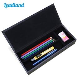 Wysokiej jakości PU skórzany piórnik luksusowe pióro pudełko na pióro wieczne akcesoria piśmiennicze organizer na biurko
