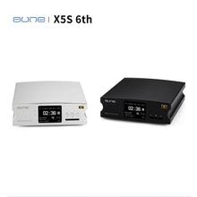AUNE X5S 6th Hifi 디지털 오디오 플레이어 디코더 AK4490 DSD USB DAC 증폭기 24bit/192K