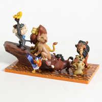 Król lew zabawki Simba Mufasa Nala pumba Timon Mini pcv zabawki dla dzieci zabawki dla dzieci urodziny prezent na boże narodzenie