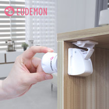 8 шт магнитные блокираторы для дверей шкафов и ящиков