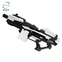 Childrens toy hetero-secondary god of war childrens gun electric 20 consecutive shooting air soft bullet toys FJ821