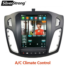Multimedia-Player Tesla-Screen Android Radio Silverstrong Focus3 Wifi for 0 IPS