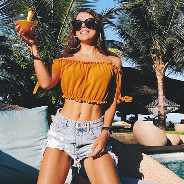 Crop-top Women Tank Top Female Streetwear Sexy Clothes Crop Tops Summer Tank Tops