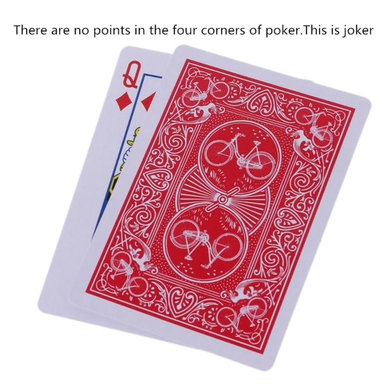 Novo segredo marcado striper baralho jogando cartas cartas de poker brinquedos mágicos truque mágico