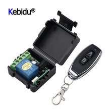 Mini RF Transmitter 433Mhz Remote Controls With Wireless Remote Control Switch DC 12V 1CH Relay Receiver Module