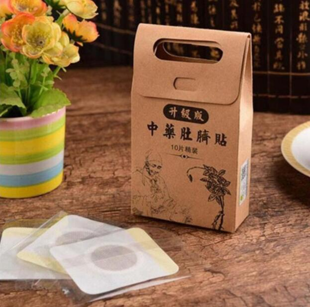 Image 4 - Chinese Medicine Strongest Weight Loss Navel Stick Magnetic Slim Fat Burning Slimming Diets Slim Patch Pads Detox Adhesive Sheet-in Slimming Product from Beauty & Health