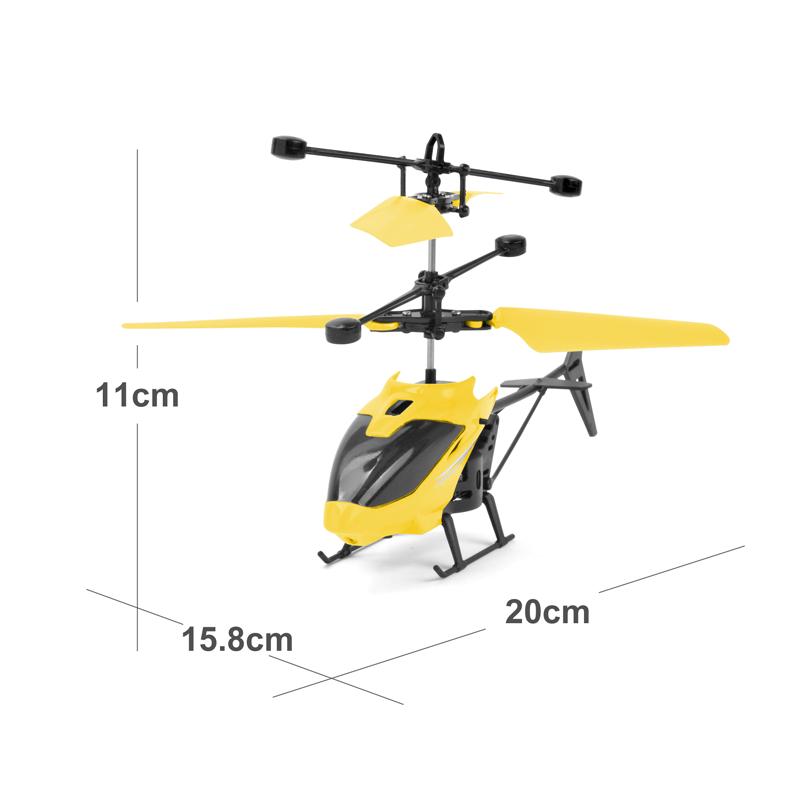 Mini RC Drone hélicoptère infrarouge Induction 2 canaux électronique drôle Suspension Dron avion quadrirotor petit drohne enfants jouets 6