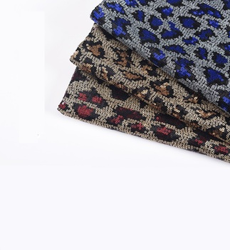 Sequin fabric Leopard sequin clothing costume costume encryption sequin mesh bottom 3mm multicolor sequin fabric фото