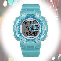 Frete Grátis Relógio Da Menina do Menino das Crianças 50M Alunos Relógios Luminosos À Prova D' Água Esportes Relógio Eletrônico de Moda Relogio masculino|Relógios femininos| |  -